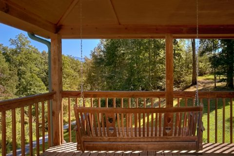 Private Cabin with Mountain View and Porch Swing - Sweet Seclusion