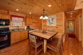 Large Open Kitchen 2 Bedroom Cabin Sleeps 6