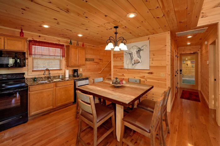 Large Open Kitchen 2 Bedroom Cabin Sleeps 6 - Swimming Hole