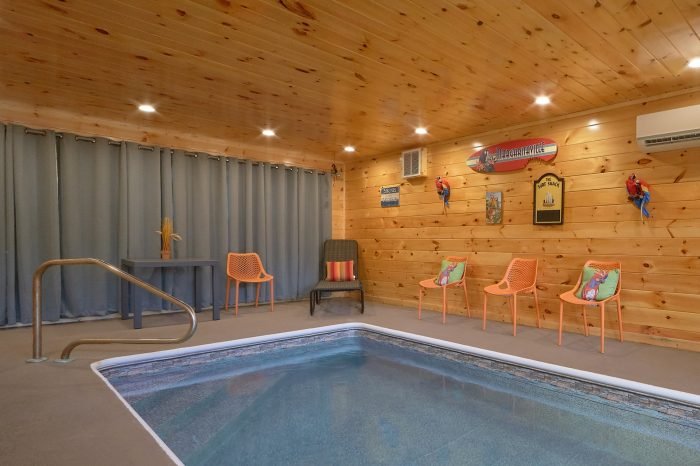 Brand New 2 Bedroom Cabin with Indoor Pool - Swimming Hole