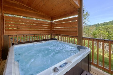 Private Hot Tub with Spectacular Views - Swimming Hole