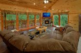 6 Bedroom Cabin with Gas Fireplace and TV