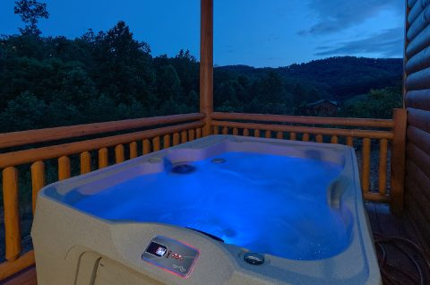 6 Bedroom Cabin with Pool and Hot Tub - Swimming in the Smokies