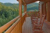 Smoky Mountain Cabin with Deck & Rocking Chairs