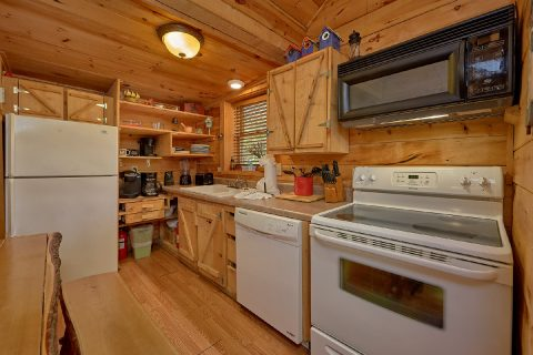 Semi Private 2 Bedroom Cabin with Full Kitchen - The Barn
