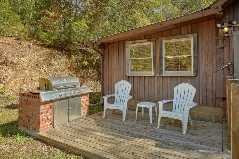 Rustic 2 Bedroom Cabin with Gas Grill - The Barn
