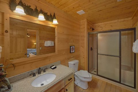 6 Bedroom cabin with 4 Master Suites - The Big Cozy