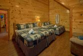 11 bedroom cabin with double king bedrooms