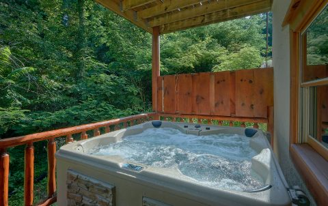Luxurious 11 bedroom cabin with 2 Hot Tubs - The Big Lebowski