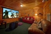 Theater Room Pigeon Forge 4 Bedroom Cabin