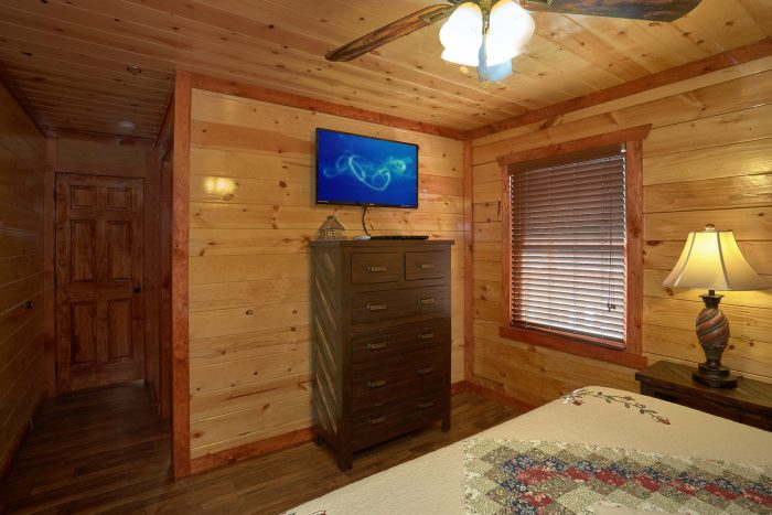 4 Bedroom Cabin with All Flat Screen TV's - The Only TenISee