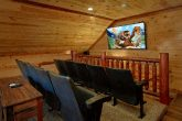 Loft Theater Room with Theater Seats