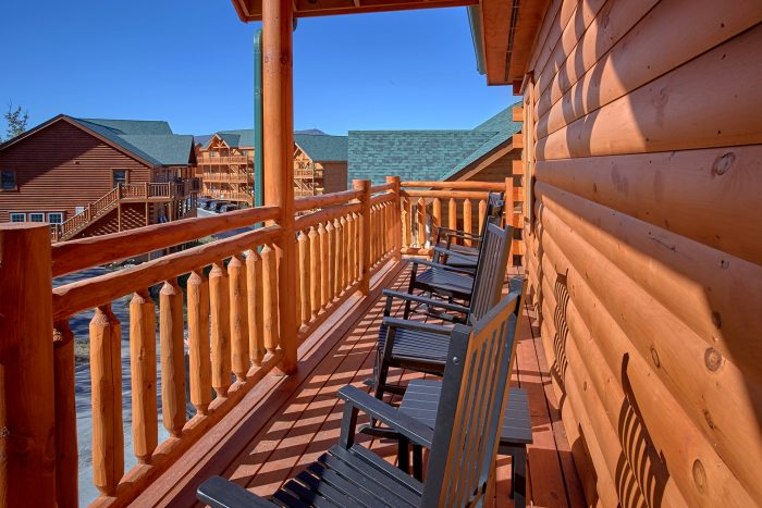 Large Decks with Rocking Chairs and Views - The Only TenISee