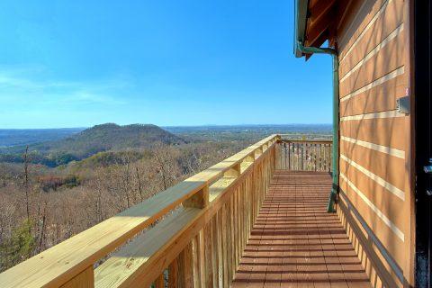 Spectacular Views 1 Bedroom Cabin Sleeps 4 - The Overlook
