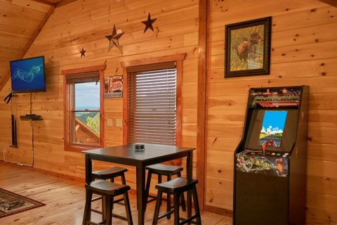 Premium Cabin with Arcade Game - The Preserve