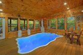 Indoor Pool 2 Bedroom 3 Bath Cabin Sleeps 6
