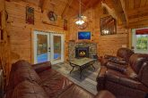 2 Bedroom Cabin with Large Fireplace and TV