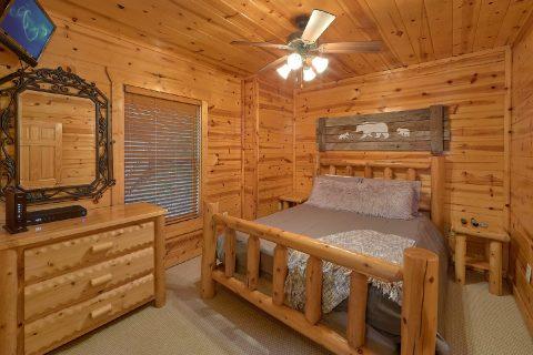 Bottom Floor King Bedroom - The Woodsy Rest