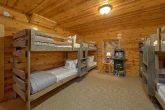 4 Bedroom Cabin with Kids Bunk Bed Room