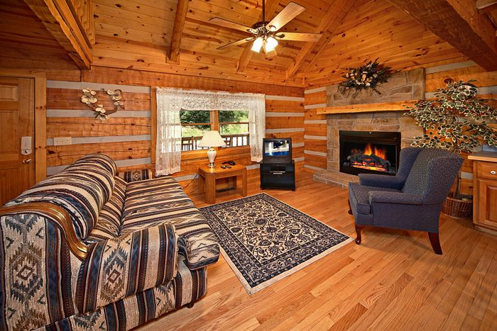 Living Room with Hard Wood Floors - This Away