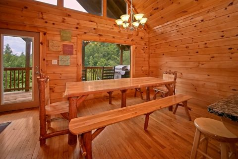 7 bedroom cabin with gas grill - Timber Lodge