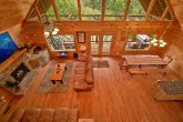 7 bedroom cabin with 4 covered porches