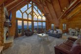 Mountain Views from 6 bedroom luxury cabin