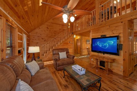Wears Valley 4 Bedroom Cabin Sleeps 14 - Tranquility