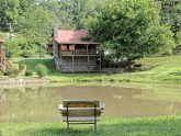 Cabin with Pond