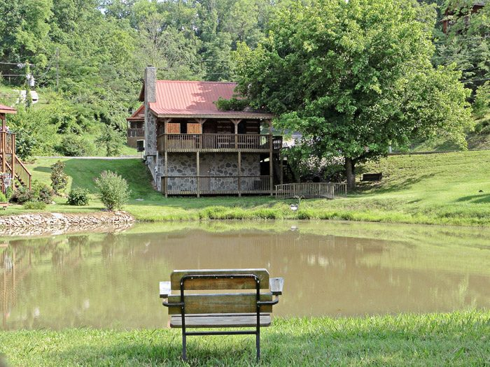 Cabin with Pond - Tucked Away