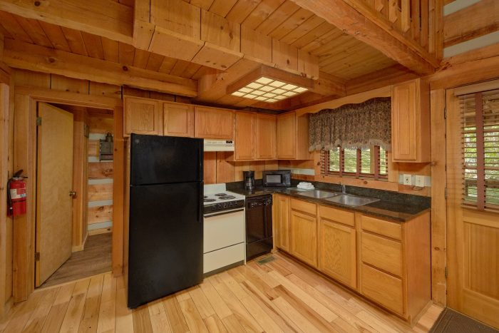 1 Bedroom Cabin with full kitchen and fireplace - Turtle Dovin'