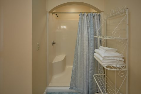 Walk In Shower in Master Bedroom - Victoria's Queen