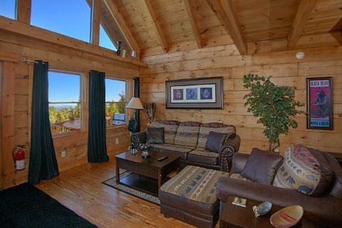 3 Bedroom Indoor Pool Cabin Sleeps 12 - View Topia Falls