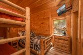 5 bedroom cabin with bunk beds for 4 kids