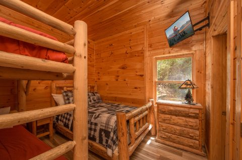 5 bedroom cabin with bunk beds for 4 kids - Wilderness Lodge