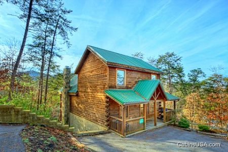 Mountain Time: 5 Bedroom Pigeon Forge Cabin Rental