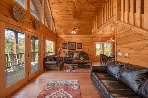5 bedroom cabin with sleeper sofa and internet - Wilderness Lodge