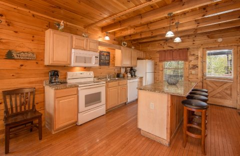 Luxury cabin with full kitchen - Wilderness Lodge