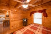 Master Bedroom with King bed in Luxury cabin