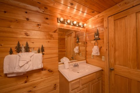 Luxury Cabin with Private Master Bath - Wilderness Lodge