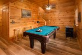 Game room in 5 bedroom cabin with arcade game