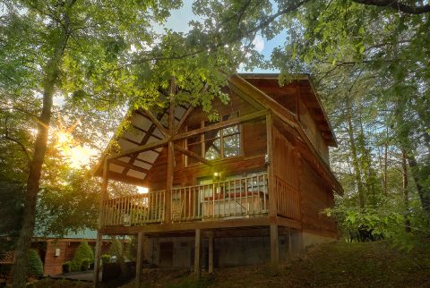1 Bedroom 2 Story Cabin Sleeps 4 - Wildflower Haven