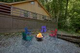 Fire Pit and Picnic Table Outdoor Fun