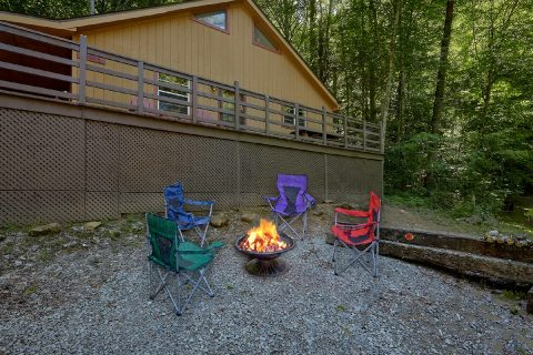 Fire Pit and Picnic Table Outdoor Fun - Willow Brook
