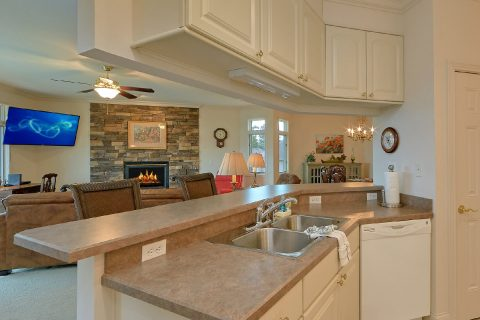 Spacious Fully Equipped Kitchen Sleeps 6 - Wow! What A View